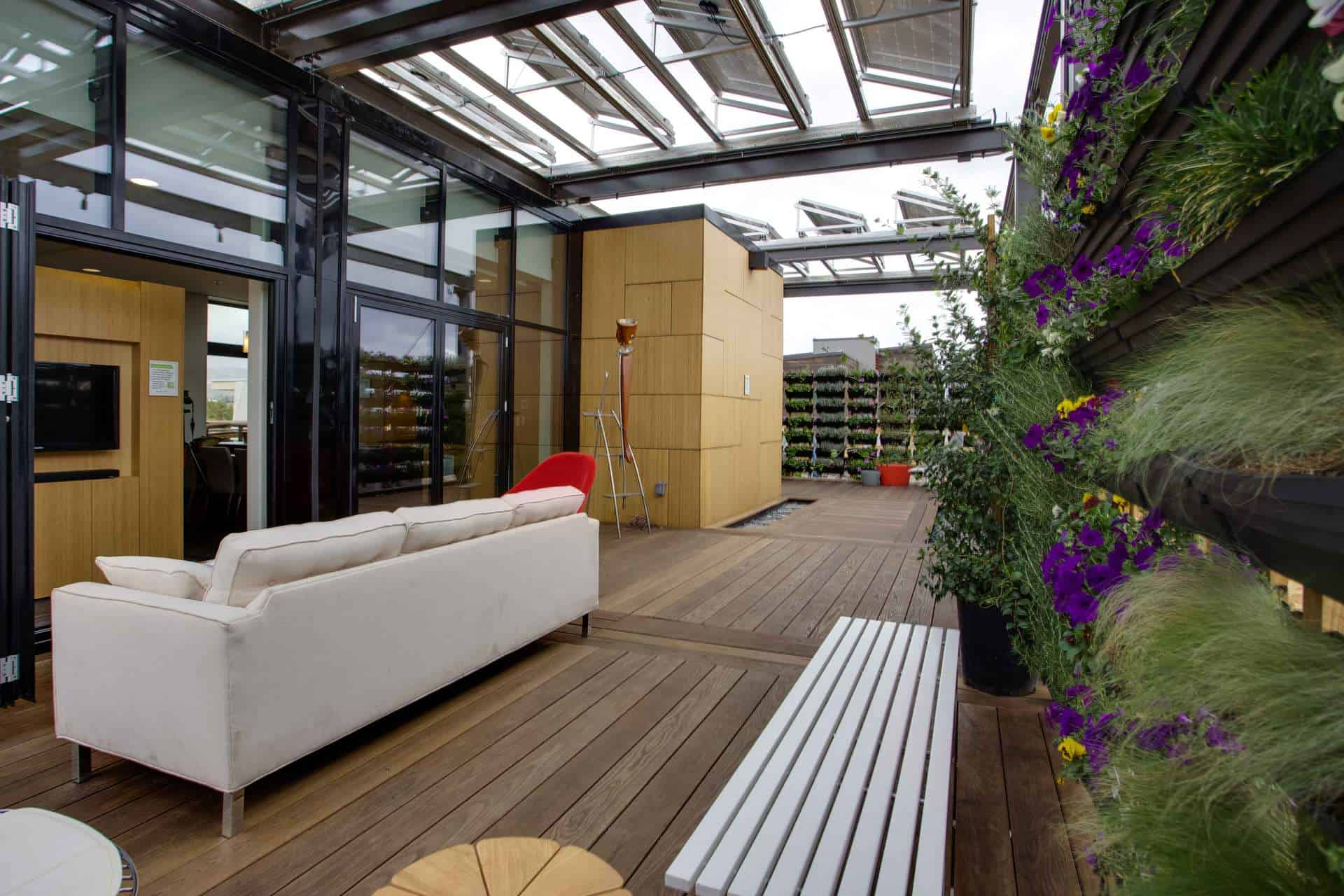 the outdoor rooms are analogues to the indoor space - The Outdoor Room