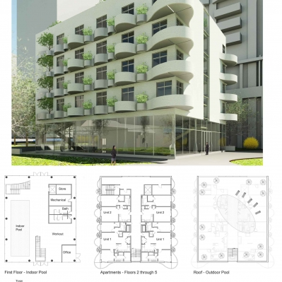 Layout board for condo project