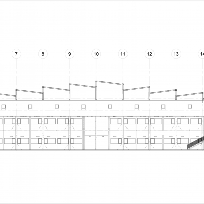 ...for energy retrofit roof design created in Revit.