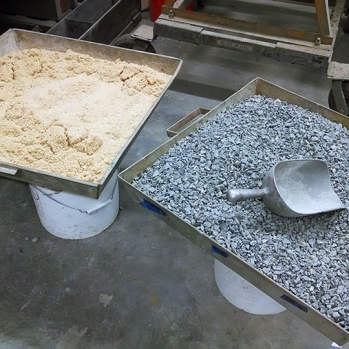 Aggregates used in testing